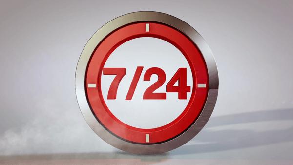 7 gün 24 saat
