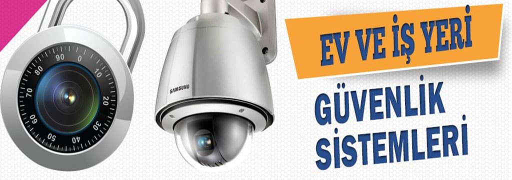 ev ve iş yeri için güvenlik kamera ve alarm sistemleri